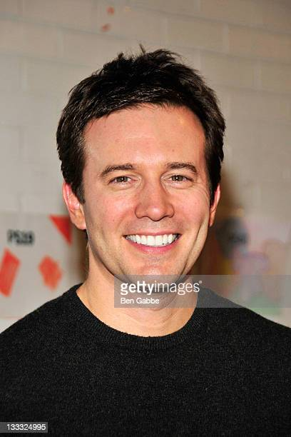 CBS The Early Show's Jeff Glor attends Making Books Sing performance of Alice's Story at the 14th Street Y on November 18 2011 in New York City