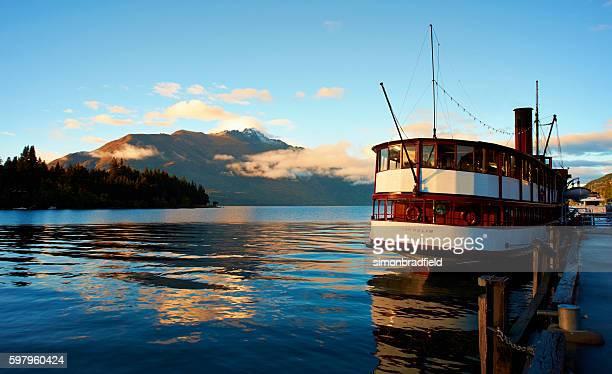 The Earnslaw And Lake Wakatipu At Dawn