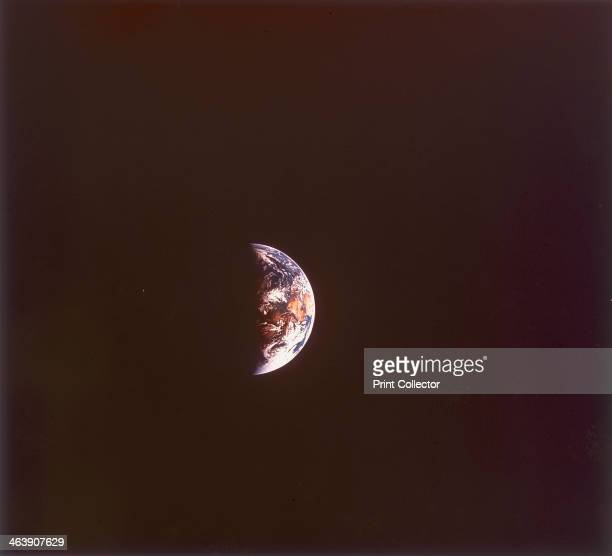 The earth from space 1968 This picture was probably taken by the Apollo 8 astronauts during the first lunar orbital mission over Christmas 1968 Many...