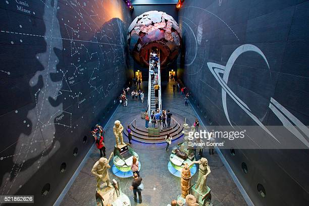 The Earth Galleries at London's Natural History Museum