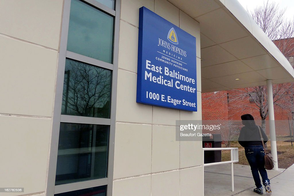 The East Baltimore Medical Center as seen, February 20, 2013, is where a Johns Hopkins gynecologist had been investigated about allegations of secret recordings. The accused doctor, Nikita A. Levy, was recently found dead at his Towson home, but a criminal investigation by police is ongoing, along with an inquiry by Johns Hopkins.