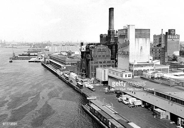 The East River waterfront in Williamsburg Brooklyn has for over a centruy been the home of the nation's largest sugar refinery once known as American...