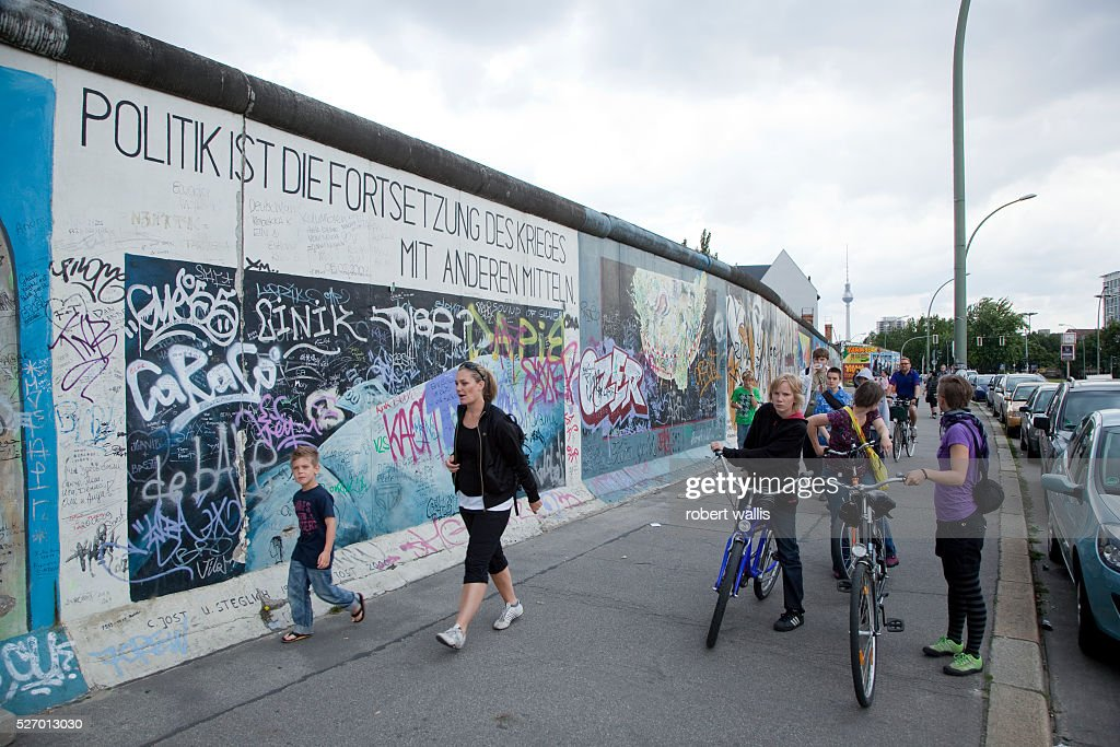 The East Side Gallery A Preserved Section Of The Berlin Wall