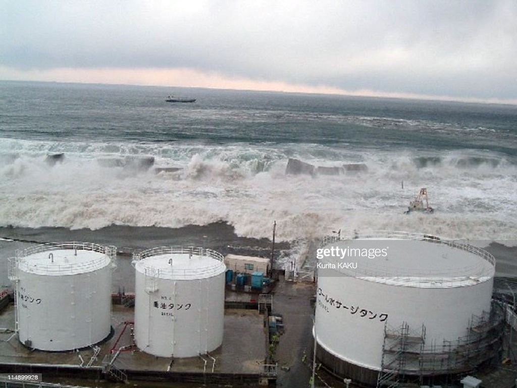 Aftermath Of A Massive Earthquake And Tsunami In Japan : ニュース写真