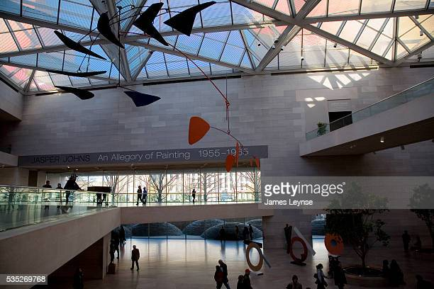 The east wing of the National Gallery of Art in Washington DC The building was designed by architect IM Pei and opened in 1978