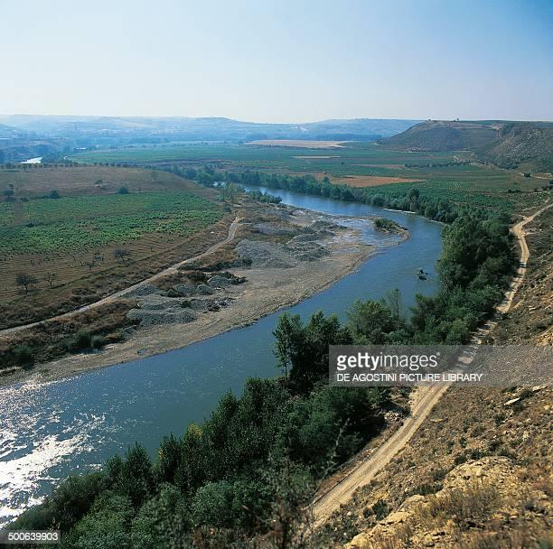 The Ebro river La Rioja Old Castile Spain