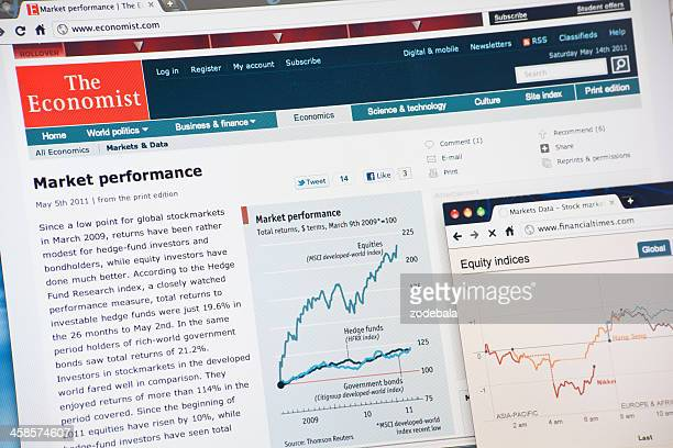 The Economist and Financial Times Business News