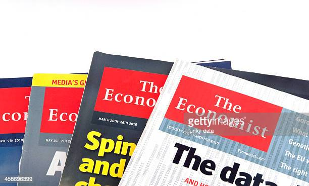 The Economist isolated on white