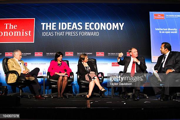 The Economist's Ideas Economy Human Potential conference September 15 2010