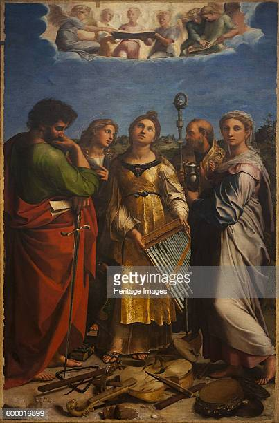 The Ecstasy of Saint Cecilia ca 1514 Found in the collection of Pinacoteca Nazionale di Bologna Artist Raphael