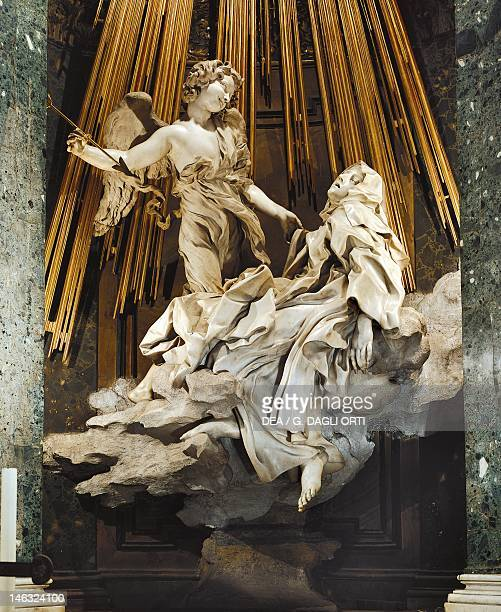 The Ecstasy of St Teresa of Avila 16471652 by Gian Lorenzo Bernini Church of Santa Maria della Vittoria in Rome Lazio