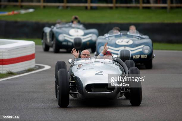 The Ecurie Ecosse Parade at Goodwood on September 8th 2017 in Chichester England