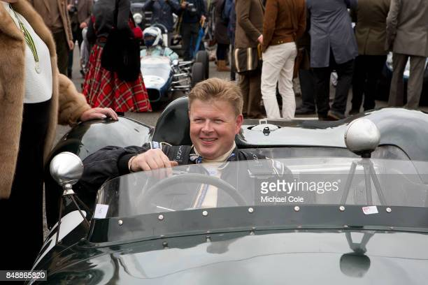The Ecurie Ecosse Parade on the grid at Goodwood on September 8th 2017 in Chichester England