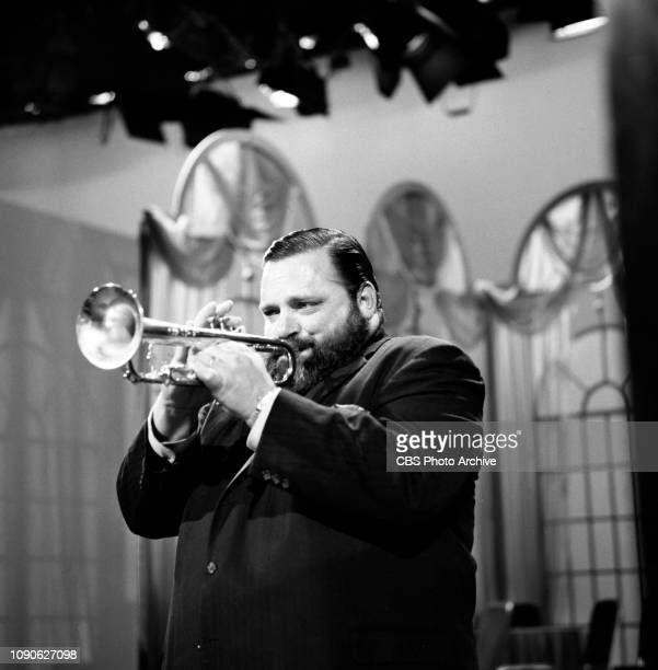 The Ed Sullivan Show a CBS television variety program Broadcast December 12 1965 New York NY Pictured is trumpet player Al Hirt performing