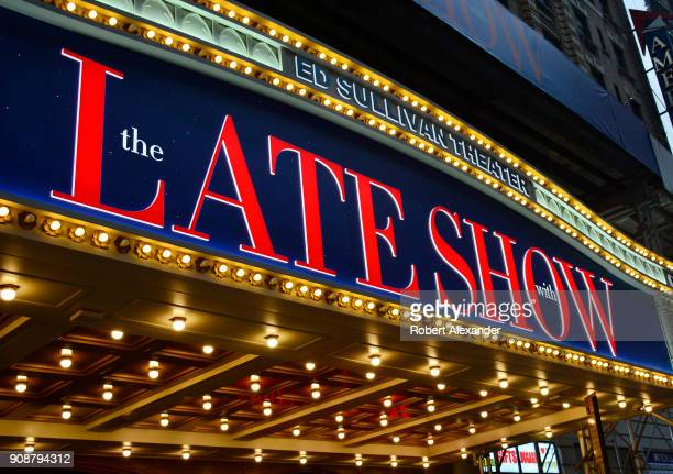 The Ed Sullivan Theater in New York City is the home of The Late Show with Stephen Colbert.
