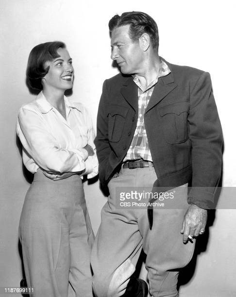 The Ed Wynn Show a CBS television sketch comedy and music program Guest star actress Ella Raines guest star actor Richard Arlen March 31 1950