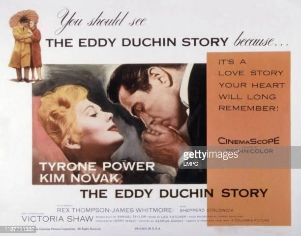 The Eddy Duchin Story lobbycard Kim Novak Tyrone Power 1956