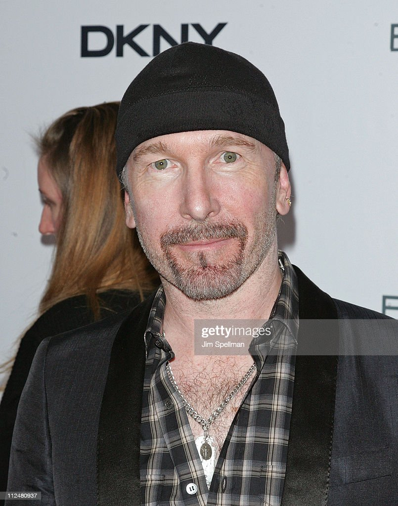 The Edge attends the Cinema Society with Details and DKNY Men screening of 'Brothers' at the SVA Theater on November 22, 2009 in New York City.