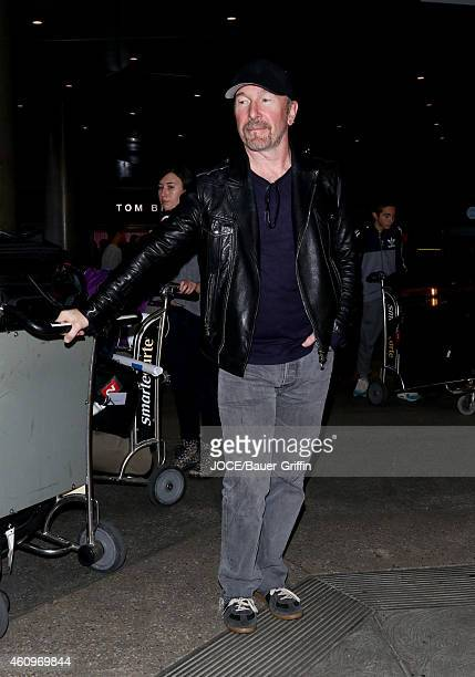 The Edge is seen at LAX on January 01 2015 in Los Angeles California