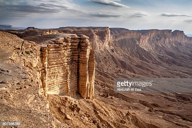 the edge of the world - riyadh stock pictures, royalty-free photos & images