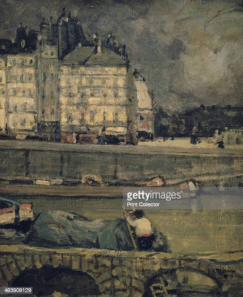 'The Edges of the Seine Paris' From the collection of the Musée d'Orsay Paris France