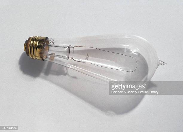 The Edison screwin bulb was the first light bulb to be manufactured on a large scale In sending a current to heat a filament and thus produce light...