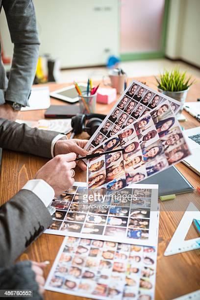 Der editor Arbeiten Sie das richtige Bild