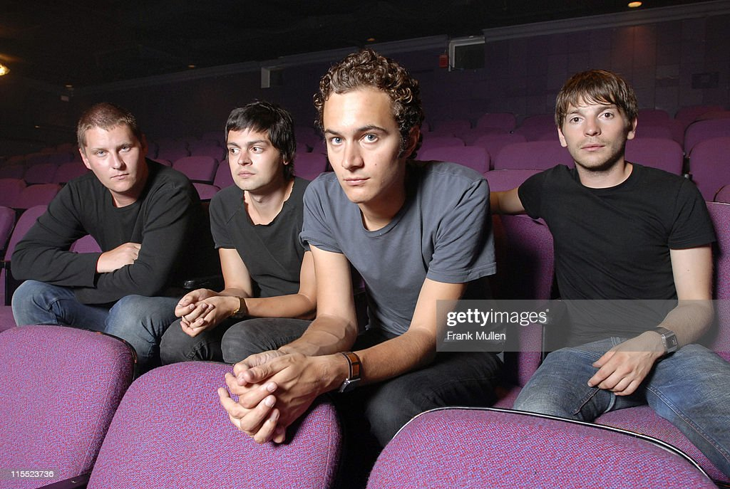 The Editors - Portrait Session - July 25, 2006 : News Photo