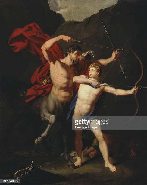 The Education of Achilles Found in the Collection of State Hermitage St Petersburg