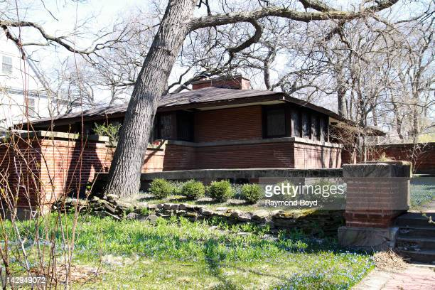 The Edwin H Cheney House built in 1903 and designed by famed architect Frank Lloyd Wright in Oak Park Illinois on MARCH 17 2012