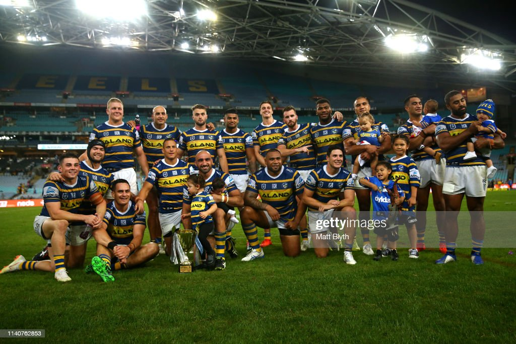 NRL Rd 4 - Eels v Sharks : News Photo