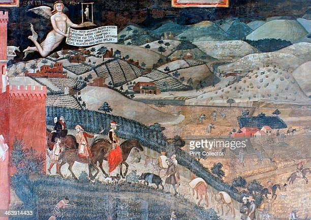 'The Effects of Good Government in the Countryside' 13381340 Ambrogio Lorenzetti frescoed the side walls of the Council Room of the City Hall of...