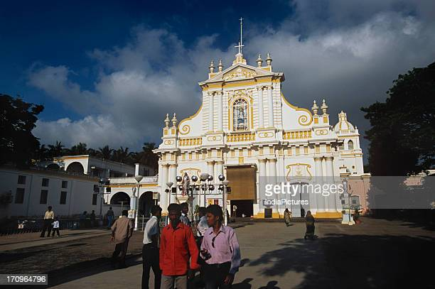 The Eglise De Notre Dame Des Anges or Immaculate Conception Cathedral Immaculate Conception Cathedral built in 1791 Pondicerry India