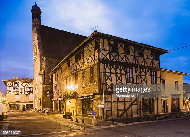 the eglise (church) de saint-andré - ain bildbanksfoton och bilder