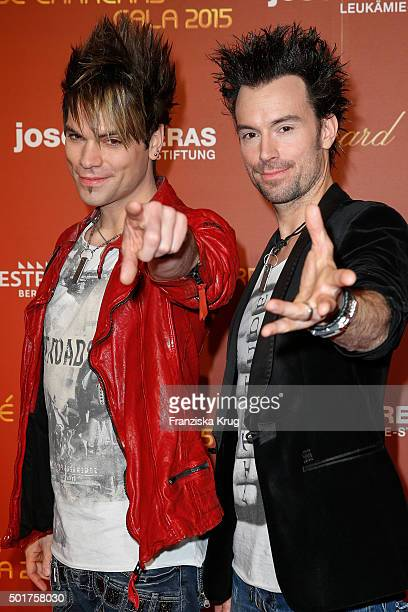 The Ehrlich Brothers attend the 21th Annual Jose Carreras Gala at Hotel Estrel on December 17 2015 in Berlin Germany