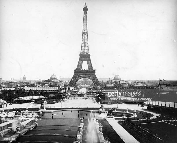 The Eiffel Tower and the Exposition Universelle in Paris