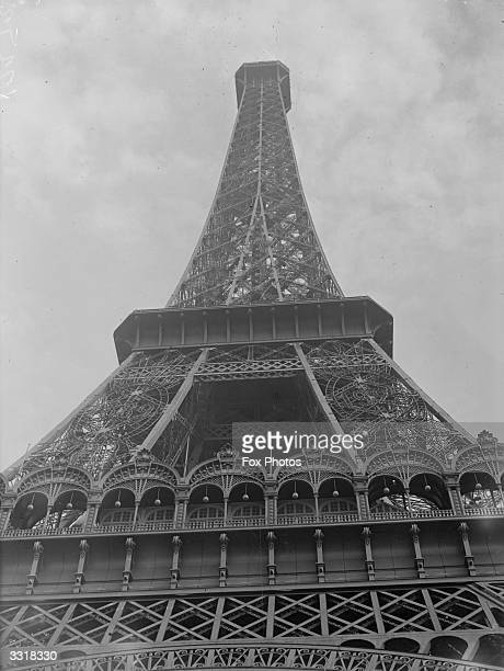 The Eiffel Tower designed by Gustave Eiffel and erected in 1887 1889 in the ChampsdeMars for the Paris exhibition of 1889 It was the tallest building...