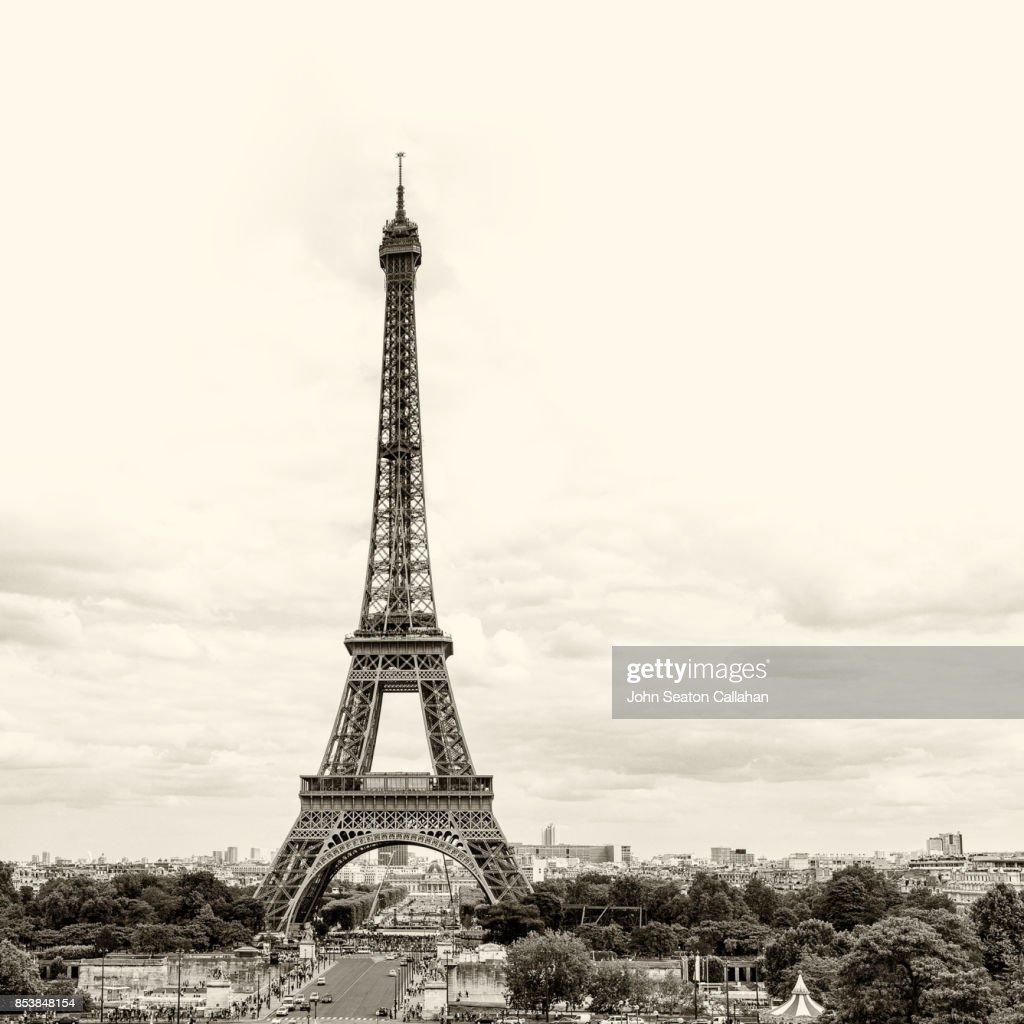 The Eiffel Tower : Stock Photo