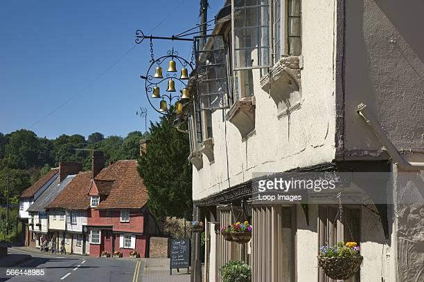 The Eight Bells pub in Saffron Walden