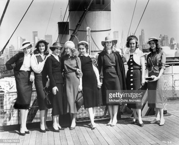 The eight girls in The Group Jessica Walter Shirley Knight MaryRobin Redd Joanna Pettet Elizabeth Hartman Joan Hackett Kathleen Widdoes and Candice...
