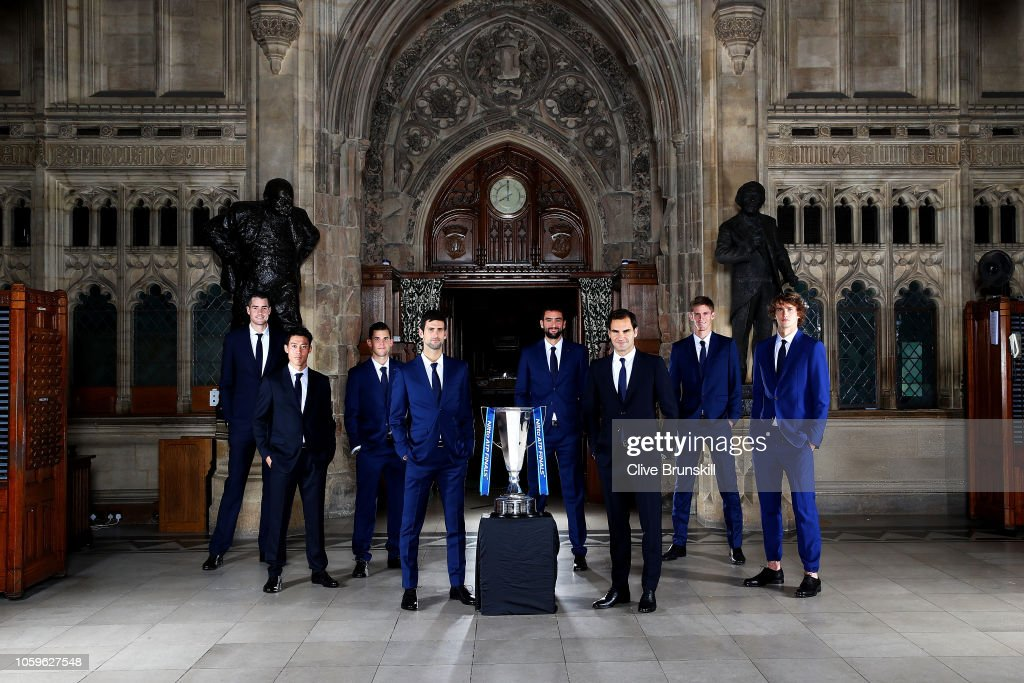 World's Best Tennis Players Launch Nitto ATP Finals At Houses Of Parliament : Nachrichtenfoto