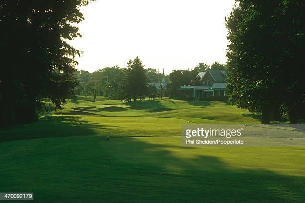 The eighteenth hole of the Inverness Golf Club Ohio circa 2000