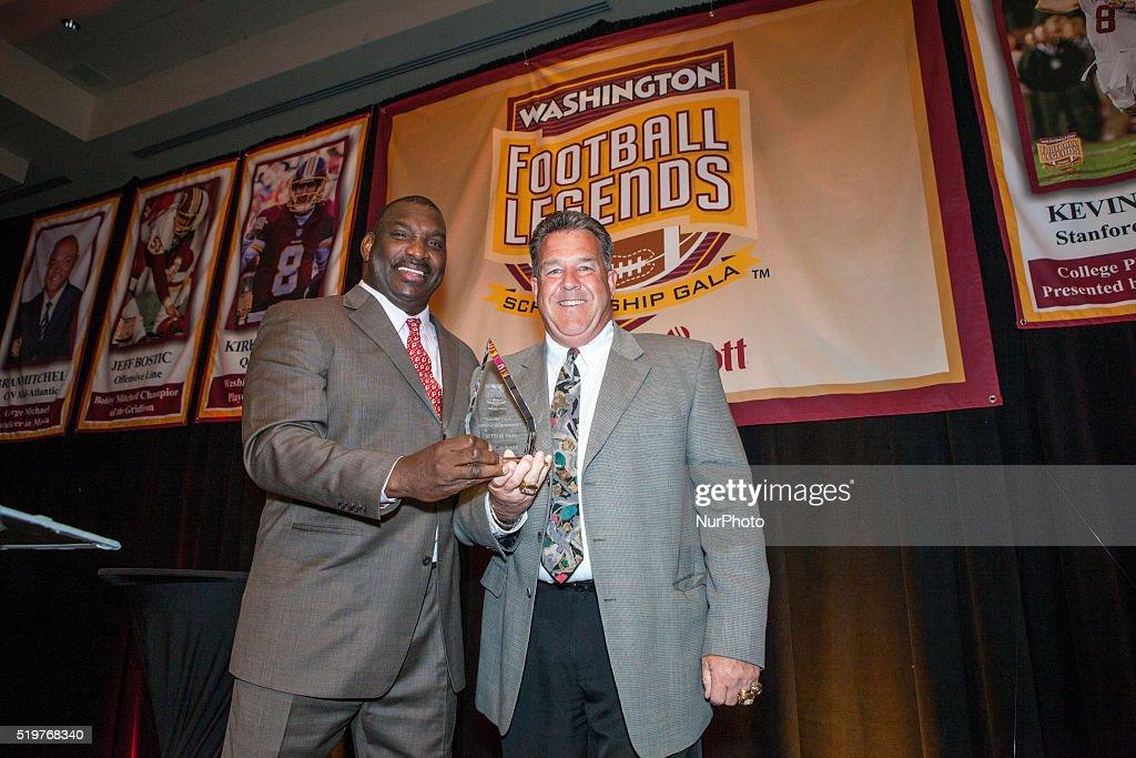 Washington Football Legends Scholarship Gala : News Photo