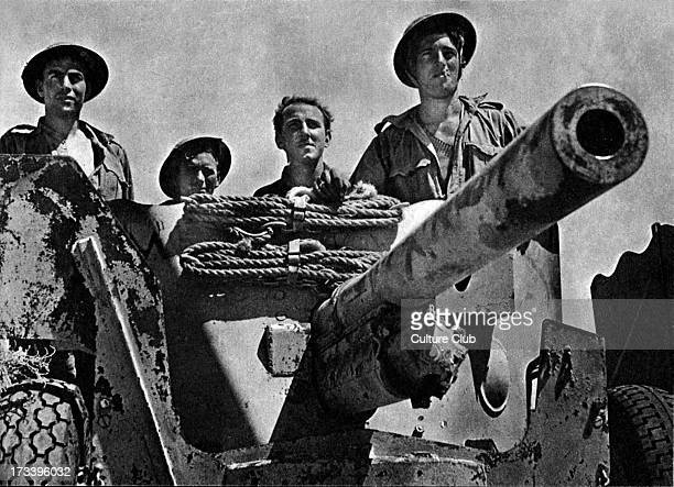 The Eighth Army WWII Montgomery prepares to strike September 1942 Gunners wait