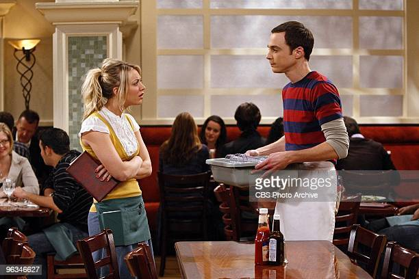 'The Einstein Approximation' Sheldon's search for the answer to a physics problem leads him to work at the Cheesecake Factory with Penny on The Big...
