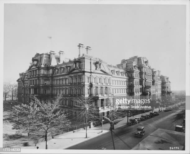 The Eisenhower Executive Office Building or the Old Executive Office Building is a national historic landmark situated just west of the White House...
