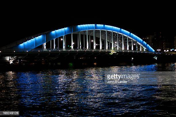 The Eitai-bashi Bridge or just Eitai Bridge dates from 1924, replacing a bridge built in 1696. The Sumida River or Sumida-gawa as it is known in...