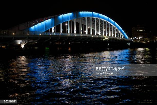 The Eitaibashi Bridge or just Eitai Bridge dates from 1924 replacing a bridge built in 1696 The Sumida River or Sumidagawa as it is known in Japanese...