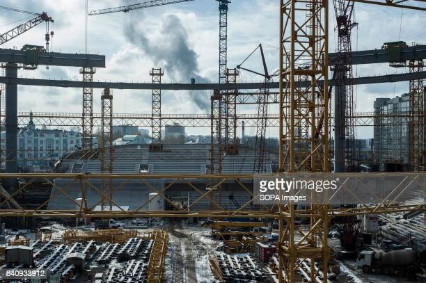 The Ekaterinburg Central stadium under construction Construction and renovation of football stadiums in Russia is racing against time as Russia is...