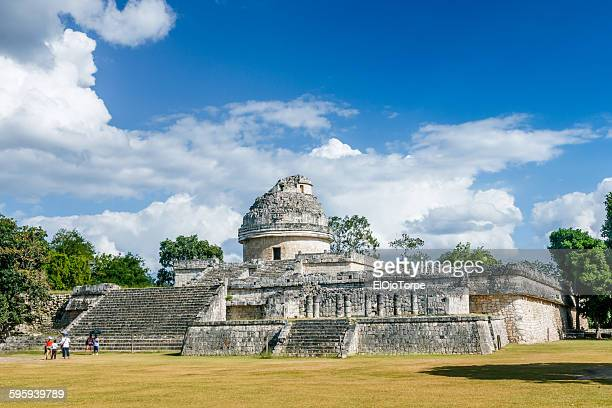 The 'El Caracol' observatory temple, Chichen Itza